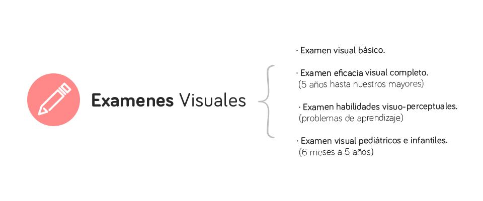 Exámen, diagnóstico y terapia visual